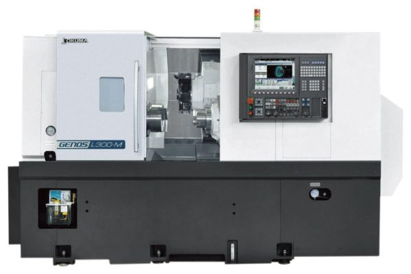 Okuma Genos L300-MYW CNC Turning Center